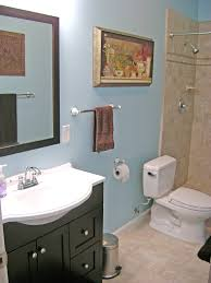 How To Put A Frame Around A Bathroom Mirror by How To Finish A Basement Bathroom The Complete Series