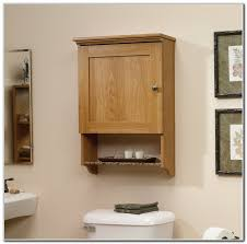 oak bathroom cabinets over toilet interior design