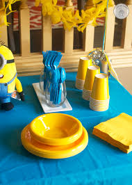Minions Candy Buffet by Minion Birthday Party With Free Printables