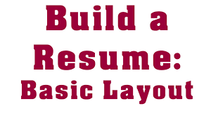 Building A Professional Resume How To Write A Professional Entry Level Resume Youtube