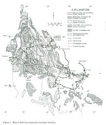 Libby Montana Map by Middle Proterozoic Belt Supergroup Western Montana