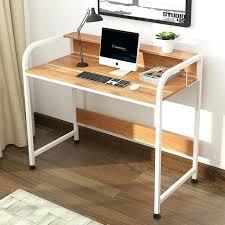 Oak Effect Computer Desk Home Office Laptop Desk Simple Modern Desktop Home Office Computer