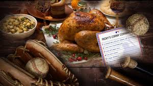 favorite thanksgiving recipes from mlb mlb