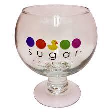 60oz glass goblet sugar factory