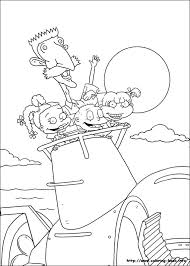 Rugrats Coloring Pages Printable Sheet Free Download 17