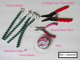 bead necklace clasp images Chunky bead necklace tutorial the d i y dreamer jpg