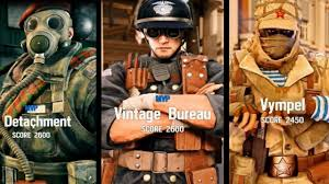 vintage siege operation victory screens elite uniforms