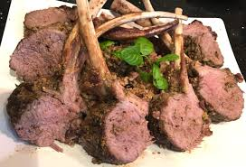 rack of lamb with rosemary u0026 pistachio crust u2013 home cooking with flair