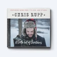 christmas cd a bit of christmas ep cd signed clearance chris rupp store