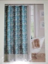 Teal Damask Curtains Posts Similar To Navy Curtain Im Not Feeling The Teal So Much