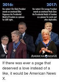 Ellen Degeneres Meme - 2016 our nation s first black president awards an emotional ellen