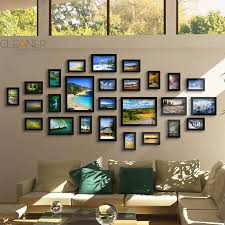 cheap frames wall mounted family album frame for home
