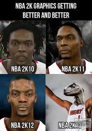 Chris Bosh Dinosaur Meme - the graphics are getting better meme