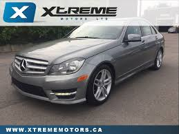 used 2012 mercedes benz c class for sale kitchener on