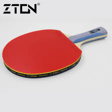 Table Tennis Racket Zton 7 Stars Table Tennis Racket Ddouble Pimples In Rubber Ping