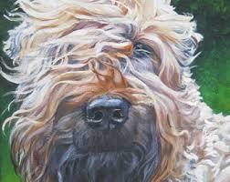 wheaten terrier etsy