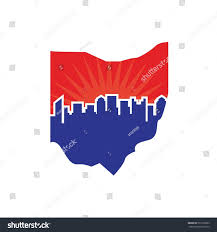 Ohio Map by Ohio Map Logo Vector Stock Vector 531010285 Shutterstock