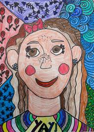 romero britto cassie stephens in the art room romero britto inspired selfies