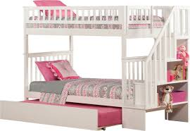 Bunk Bed With Trundle Viv Rae Shyann Bunk Bed With Trundle U0026 Reviews Wayfair
