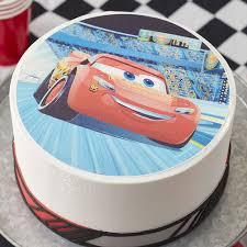 lightning mcqueen cakes mcqueen sugar sheets cake