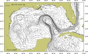 map of the gulf of mexico physical oceanography division monitoring the gulf of mexico