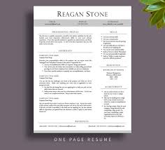 Stand Out Resume Stand Out Resume Templates 28 Images Resume Templates That
