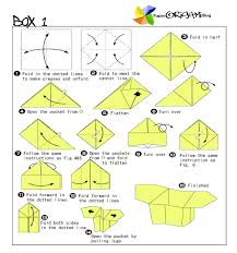 Paper Origami Box - traditional origami how to make boxes origami paper origami guide