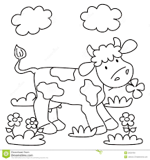 cow coloring stock photo image 32059760
