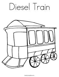 diesel train coloring twisty noodle