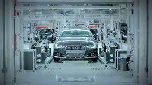 audi germany 2015 audi neckarsulm factory germany short clip youtube