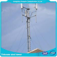 galvanização telhado antena sinal torre guyed mastro rru pontos