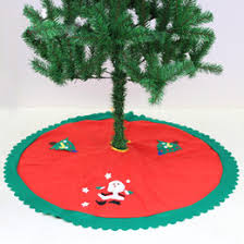 distributors of discount wholesale tree skirts 2017