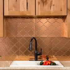 copper backsplash tiles for kitchen copper tile backsplash at overstock
