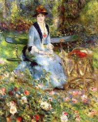 among the roses 1882 pierre auguste renoir french 1841