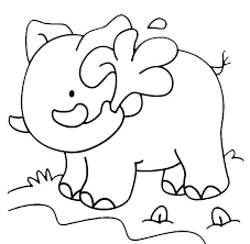 Coloriage Elephant La Image Elephant D Elephant Elephant En Elephant