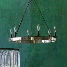 Antique Mercury Glass Chandelier Round Mercury Glass Chandelier World Market