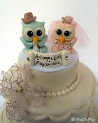 owl wedding cake topper owl wedding cake topper with cowboy hat for groom you can flickr