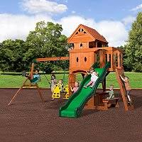 Sears Backyard Playsets Cedar Summit Summerstone Playset Sam U0027s Club