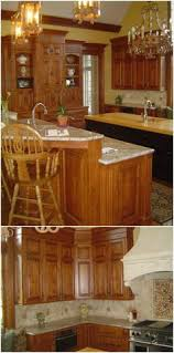 Bar Kitchen Cabinets by Stained Cabinetry Paneled Walls Mini Bar Stained Kitchen