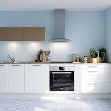 cuisine bleue et blanche cuisine bleue et blanche fabulous cuisine blanche et noyer cuisine