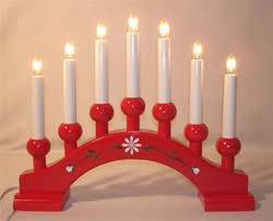 kron lume scandinavian lighting asa 7 red candelabra and traditional