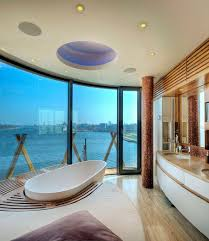 20 luxurious bathrooms with a scenic view of the ocean unique bathroom design and bathtub make most of the view on offer design baustudio