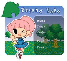 Animal Crossing New Leaf Memes - animal crossing new leaf friend info by littlealayna on deviantart