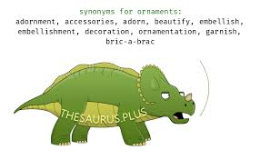 more 400 ornaments synonyms similar words for ornaments
