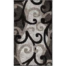 Black And Beige Rug 2 X 3 And Smaller Orian Rugs Area Rugs Rugs The Home Depot