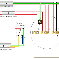 marvellous two gang light switch wiring diagram uk inspiring