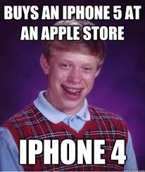 Iphone 5 Meme - buys an iphone 5 at an apple store iphone 4 quickmeme