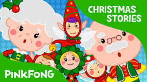the elves and the shoemaker christmas stories pinkfong story