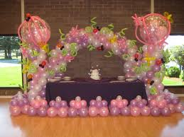 balloon decoration ideas for 1st birthday image inspiration of