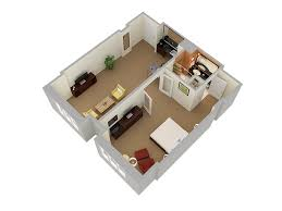 3d floor plans hotel gallery the hilton orlando one bedroom suite view 2